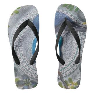 Kingfisher Flip Flops