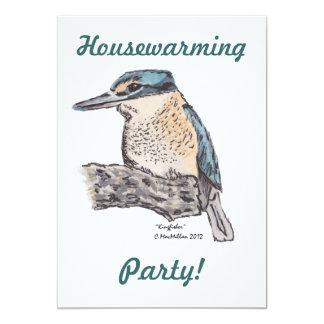 Kingfisher Housewarming Invitation