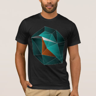 Kingfisher in a gemstone T-Shirt