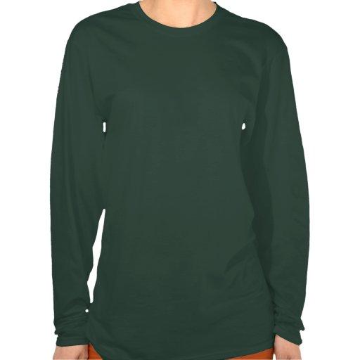 Kingfisher long sleeved womens brown top tee shirt