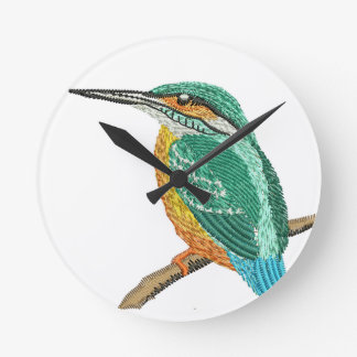 kingfisher round clock