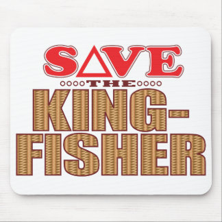 Kingfisher Save Mouse Pad