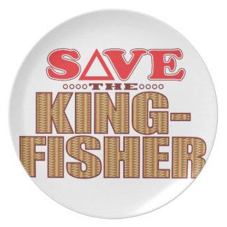 Kingfisher Save Plate