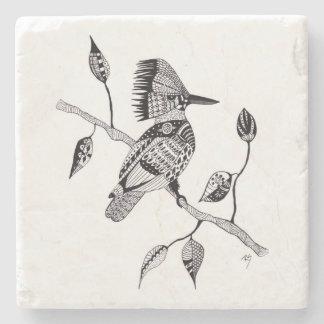 Kingfisher Stone Coaster