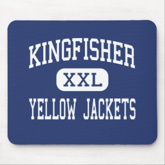 Kingfisher - Yellow Jackets - High - Kingfisher Mouse Pad