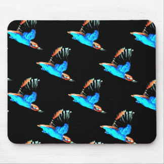 Kingfishers at Night Mouse Mats