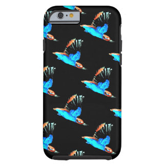 Kingfishers flying at Night Art Tough iPhone 6 Case