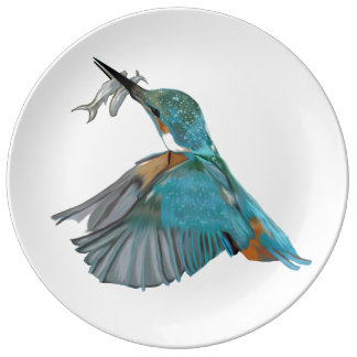 Kingfisher's Lunch Plate
