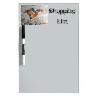 Kingfishing Dry-Erase Whiteboard