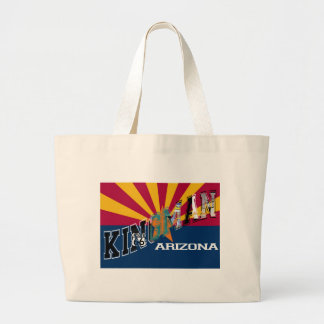 Kingman Arizona Flag Route 66 Bags