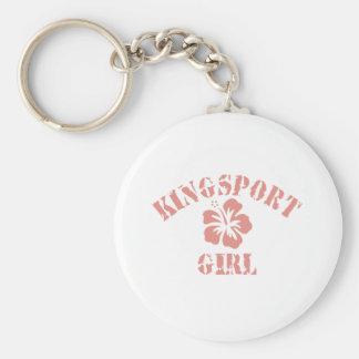 Kingman Pink Girl Keychain