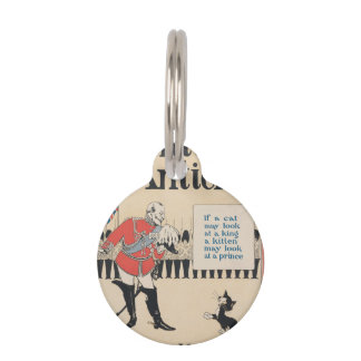 """KINGS AND KITTENS"" PET NAME TAG"