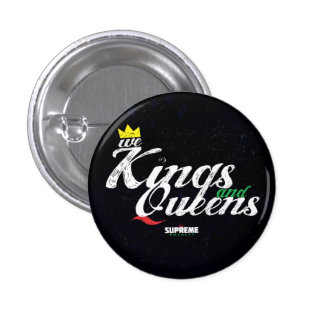 Kings and Queens Button (Pan-Tri Color)