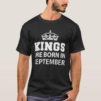 Kings are born in September T-Shirt