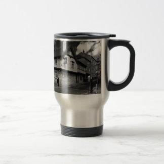 Kings arms. The pub that floods. Travel Mug