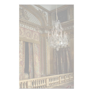 King's bed chamber, Palace of Versailles, France Stationery
