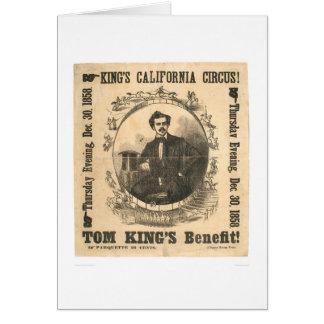 King's California Circus (0804A) Greeting Card