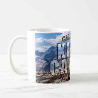 Kings Canyon National Park Basic White Mug