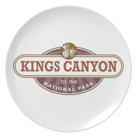 Kings Canyon National Park Plate