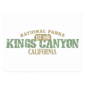 Kings Canyon National Park Postcards