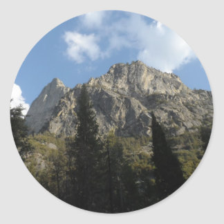 Kings Canyon National Park Round Sticker