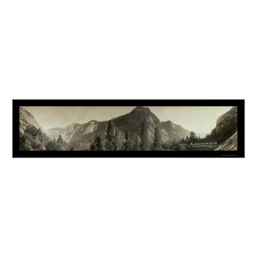 Kings Canyon Sentinal Photo 1911 Poster