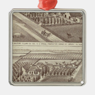 Kings Co ranches Christmas Ornament