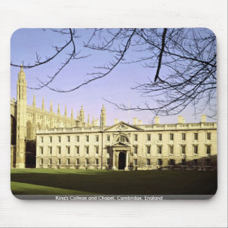 King's College and Chapel, Cambridge, England Mouse Mat