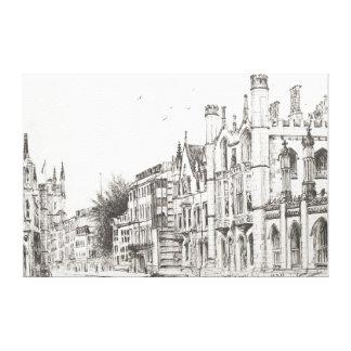 Kings College Cambridge 2007 Canvas Print