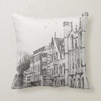 Kings College Cambridge 2007 Throw Pillow