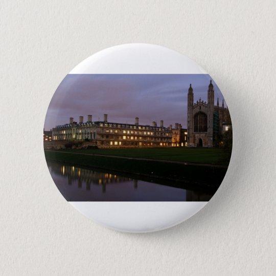 Kings college Cambridge 6 Cm Round Badge