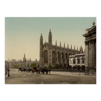 King's College, Cambridge, England Poster