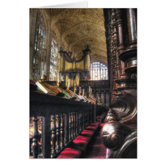King's College Chapel ~ Cambridge, England Card