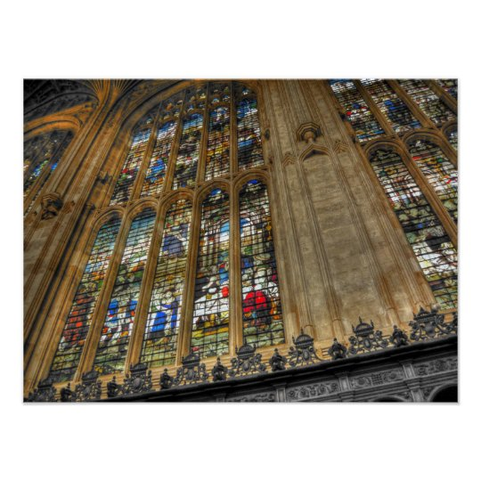 King's College Chapel ~ Cambridge, England Poster