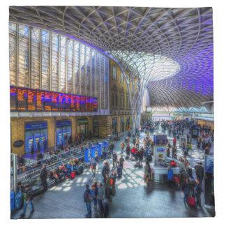 Kings Cross Station London Napkin