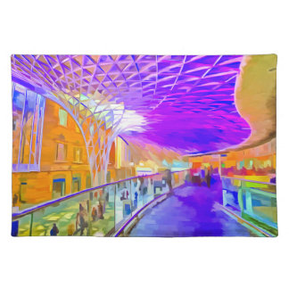 Kings Cross Station Pop Art Placemat