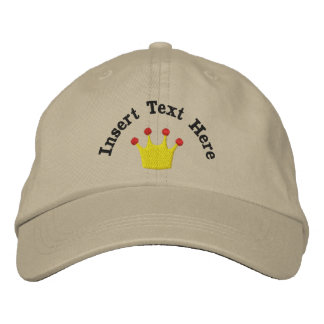 Kings Crown Embroidered Hat