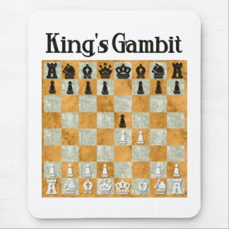 King's Gambit Mouse Pad