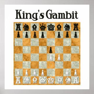 King's Gambit Print