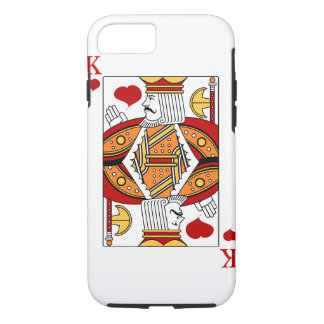 King's heart iPhone 8/7 case