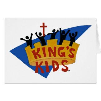 King's Kids Logo Card