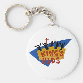 King's Kids Logo Keychain