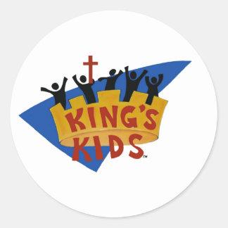 King's Kids Logo Stickers
