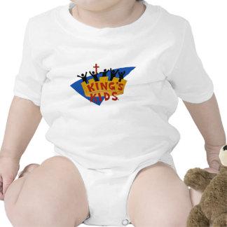 King's Kids Logo Rompers