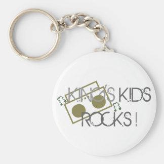 King's Kids Rock Keychain
