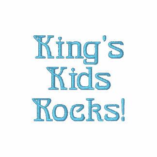 King's Kids Rocks Embroidered Shirt