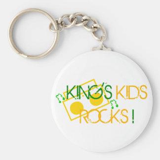 King's Kids Rocks Keychain