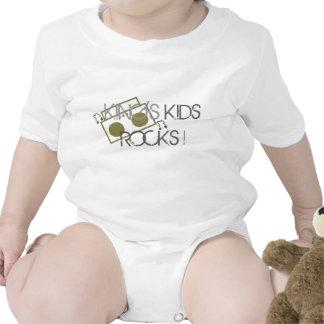 King's Kids Rocks Baby Bodysuit