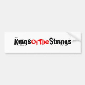 Kings Of The Strings Bumper Sticker Car Bumper Sticker