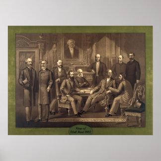 Kings of Wall Street 1882 Print